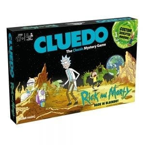 Cluedo – Rick & Morty Edition Board Game