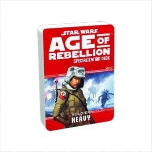 Star Wars Age of Rebellion – Heavy Specialization Deck