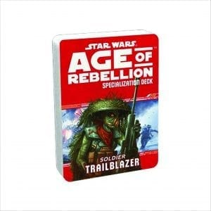 Star Wars Age of Rebellion – Trailblazer Specialization Deck