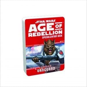 Star Wars Age of Rebellion – Vanguard Specialization Deck