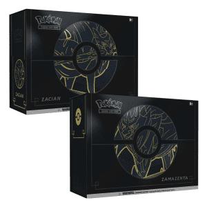 Pokemon TCG Elite Trainer Box Plus Zacian & Zamazenta