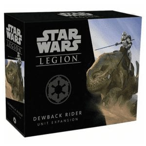 Star Wars Legion Dewback Riders Unit