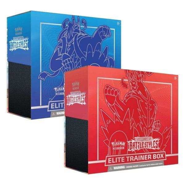 Pokemon TCG Battle Styles Trainer Box (Set of 2)