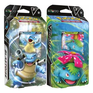Pokemon TCG Venusaur V & Blastoise V Battle Deck