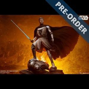 Star Wars General Obi-Wan Mythos Statue PRE-ORDER