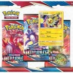Pokemon TCG Battle Styles Three Booster Blister Eevee & Jolteon PRE-ORDER