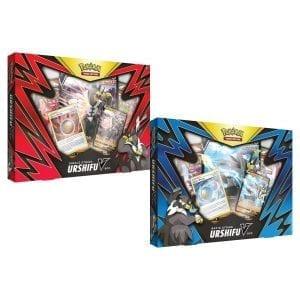 Pokemon TCG Single/Rapid Strike Urshifu V Box (Set of 2)