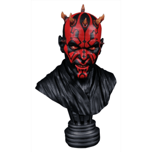 Star Wars Darth Maul Legends in 3D 1:2 Scale Bust