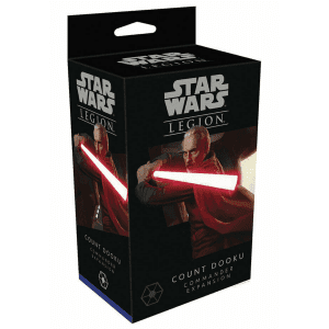 Star Wars Legion Count Dooku Commander Expansion