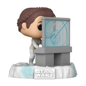Star Wars Leia US Exclusive Pop! Deluxe Diorama