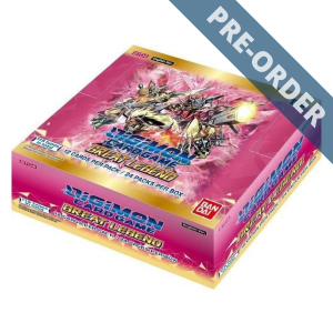 Digimon Card Game Series 04 Great Legend BT04 Booster Box PRE-ORDER