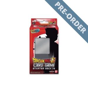 Dragon Ball Super Card Game Unison Warrior Series 14 UW5 Starter Deck (SD15) PRE-ORDER