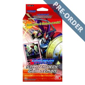 Digimon Card Game Gallantmon Starter Deck ST-7 PRE-ORDER