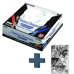 Digimon Card Game Series 06 Double Diamond BT06 Booster Box and dash pack