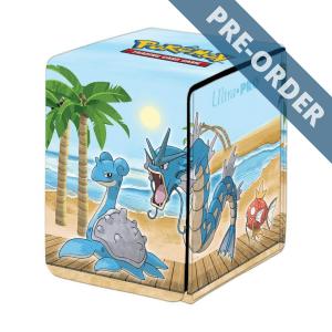 ULTRA PRO Pokemon Alcove Flip Box Gallery Series Seaside PRE-ORDER