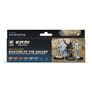 Wizkids Premium Paint Set by Vallejo: Masters of the Arcane