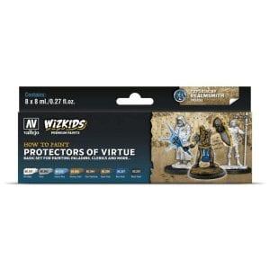 Wizkids Premium Paint Set by Vallejo: Protectors of Virtue