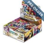 Dragon Ball Super Card Game Unison Warrior Second Edition UW1 Booster Box PRE-ORDER