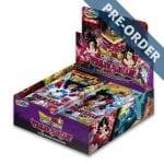 Dragon Ball Super Card Game Vermilion Bloodline Second Edition UW2 Booster Box PRE-ORDER
