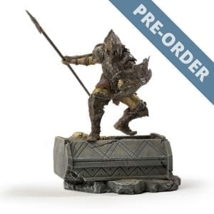 The Lord of the Rings Orc Armored 1:10 Scale Statue PRE-ORDER