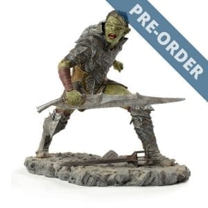 The Lord of the Rings Orc Swordsman 1:10 Scale Statue PRE-ORDER