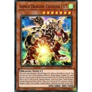 Armed Dragon Thunder LV7 Ultra Rare 1st Edition BLVO-EN002 NM-M