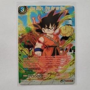 Dragon Ball Super Card Game – Son Goku, Eye for an Eye BT12-005 SPR NM-M