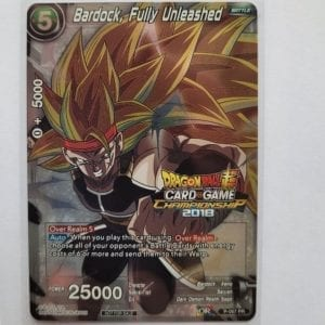 Dragon Ball Super Card Game – 2018 CHAMPIONSHIP Bardock, Fully Unleashed P-067 PR NM-M