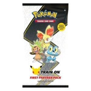 Pokemon TCG 25th Anniversary First Partner Pack Kalos
