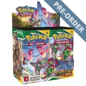 Pokemon TCG Evolving Skies Booster Box PRE-ORDER - cardsforbards