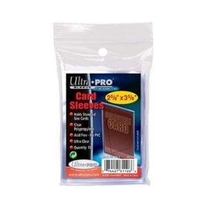 ULTRA PRO Card Sleeve 2-12 X 3-12 Soft Card Sleeves (PK100)