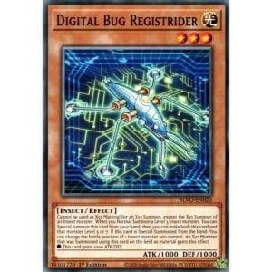 Digital Bug Registrider Common 1st Edition BLVO-EN023 NM-M