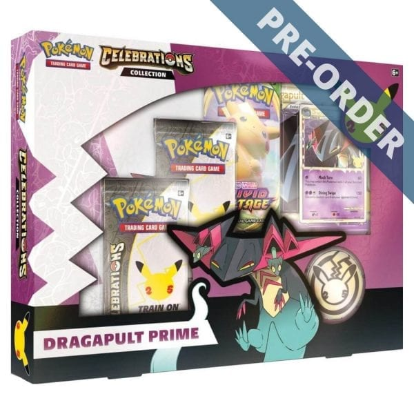 Pokemon TCG Celebrations Collection Dragapult Prime PRE-ORDER