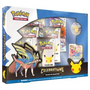 Pokemon TCG Deluxe Pin Collection Celebrations
