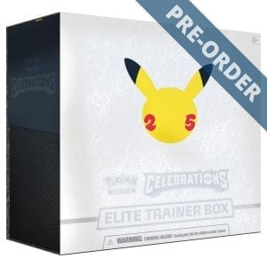 Pokemon TCG Elite Trainer Box Celebrations PRE-ORDER