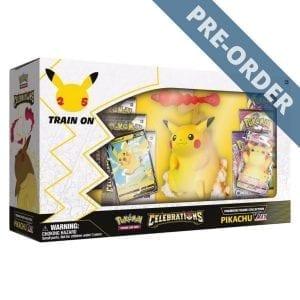 Pokemon TCG Premium Figure Collection Celebrations Pikachu Vmax PRE-ORDER