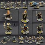 Lord of the Rings Journeys in Middle Earth Hand Painted Figures