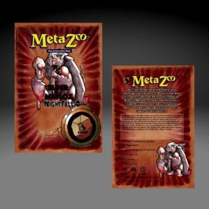 MetaZoo TCG Nightfall Theme Deck – Earth PRE-ORDER