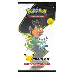 Pokemon TCG 25th Anniversary First Partner Pack Unova