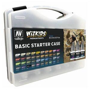 Wizkids Premium Paint Set by Vallejo: Basic Starter Case