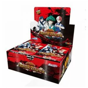 My Hero Academia CCG Crimson Rampage Booster Box